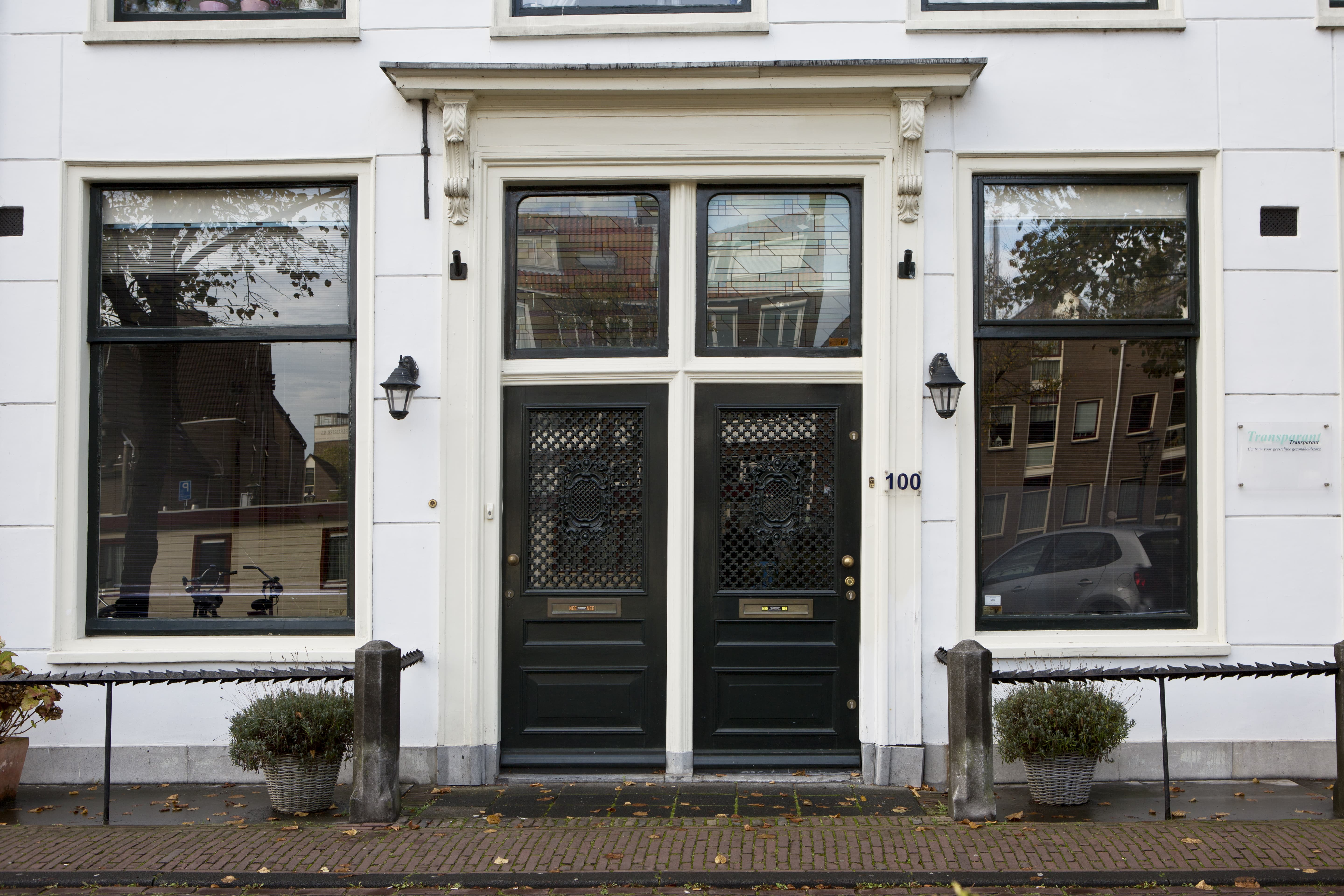 Transparant, Herengracht 100